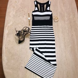 2b bebe bodycon long dress